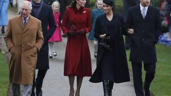 Die britischen Royals haben genug: Mit strikten Benimm-Richtlinien für ihre Social-Media-Kanäle kämpfen sie gegen Hass und fiesen Klatsch. (Archivbild)