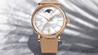 Gold und Diamanten: Eine Uhr von IWC Schaffhausen (Archiv)