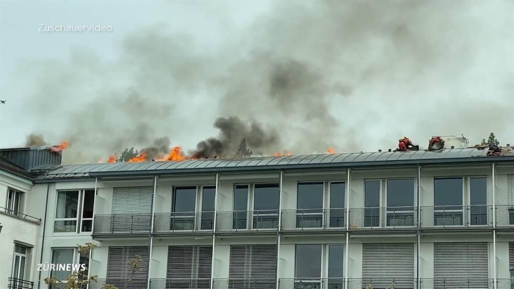 Brand in der Zürcher Hirslanden Klinik