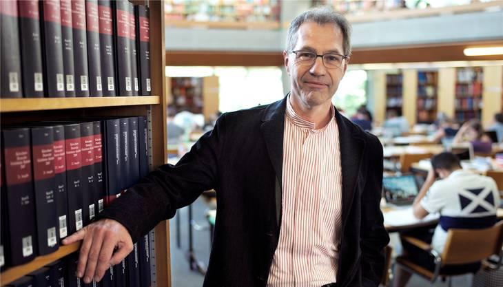 UB-Vizedirektor Felix Winter hat den «Wikipedian» nach Basel geholt.
