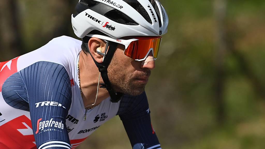 Nach Sturz im Tessin bangt Nibali um Giro-Teilnahme