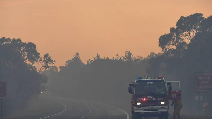 Der Himmel im australischen Bundesstaat Victoria brennt: Rund 1000 Feuerwehrleute sind im Einsatz, gegen die Wald- und Buschbrände, welche bereits tausende Hektar Land zerstört haben.