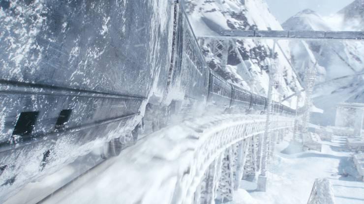 Werden wir in einer ewigen Eiszeit in einem Zug um den Globus fahren und in einer gnadenlosen Diktatur leben wie bei «Snowpiercer»?