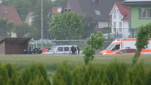 Der Schüler konnte nahe eines Sportplatzes festgenommen werden