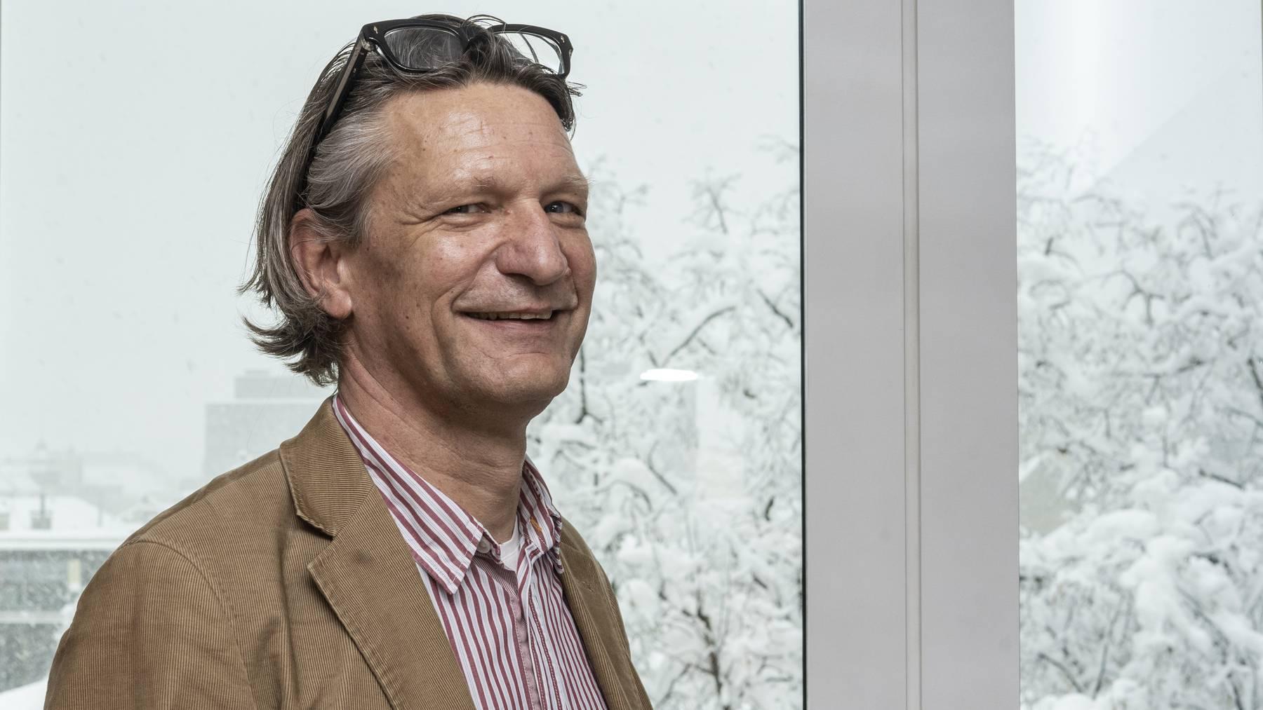 Michael Zellweger, ehemaliger Geschäftsführer der Spitex.