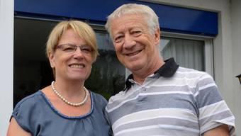 Noch enger miteinander verbunden: Das Ehepaar Heidi und Josef Rudolf. Sie spendete ihm eine Niere.Hansjörg Sahli