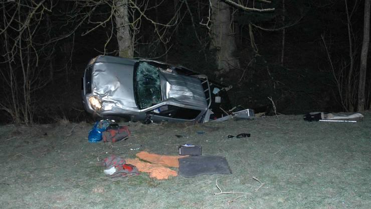 Unfall in Aedermannsdorf