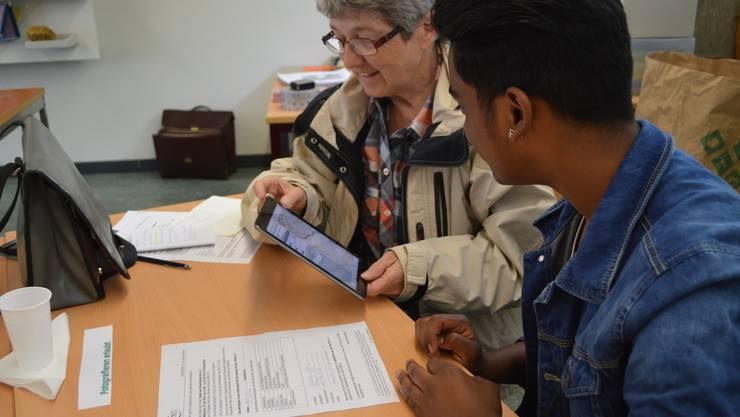 Einige Teilnehmer sind bereits zufrieden, wenn sie die Basiskenntnisse über ihre Geräte erlangen.