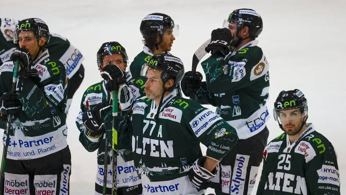 Swiss League: EHC Olten - EHC Visp (19.01.20)