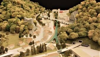 Das Modell zur Verkehrsanbindung Thal