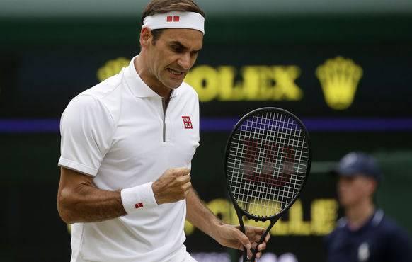 So muss das bei Federer aussehen.