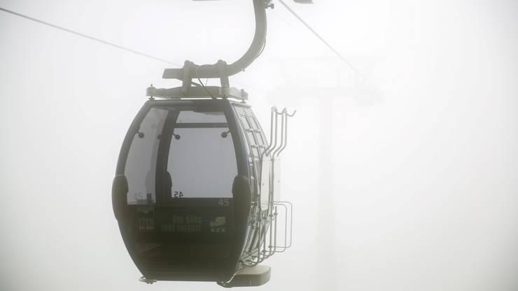Weissenstein-Gondeli im Nebel