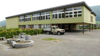 Das Schulhaus in Matzendorf an der Rehgasse 12.