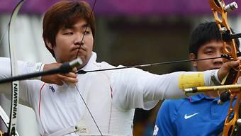 Erster Einsatz und sogleich Weltrekord: Im Dong Hyun.