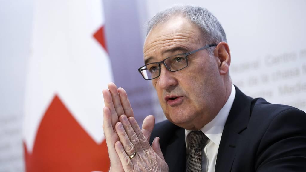 Will Diskriminierung von Schweizer Unternehmen verhindern: Wirtschaftsminister Guy Parmelin.