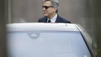 Es liegt in der Familie: Auch Schauspieler George Clooney scheint das Grauhaar-Gen in sich zu tragen.