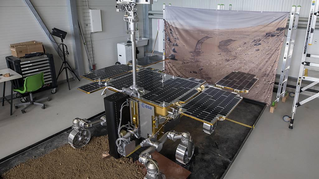 Start des europäisch-russischen Mars-Rovers auf 2022 verschoben
