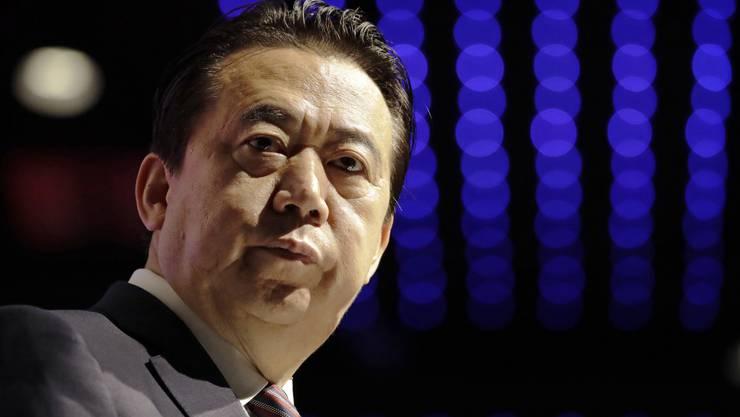 Der inzwischen zurückgetretene Interpol-Präsident Meng Hongwei wird seit dem 25. September 2018 vermisst.