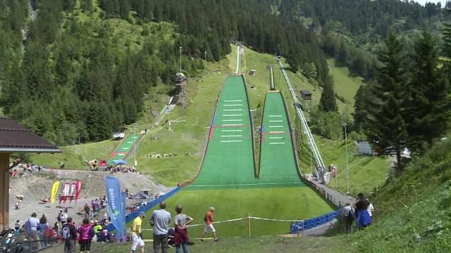 Eröffnung Skizentrum Kandersteg