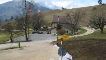 Das Bergrestaurant Roggen ist seit der Strassenbetonierung besser zugänglich, sagt der Wirt.
