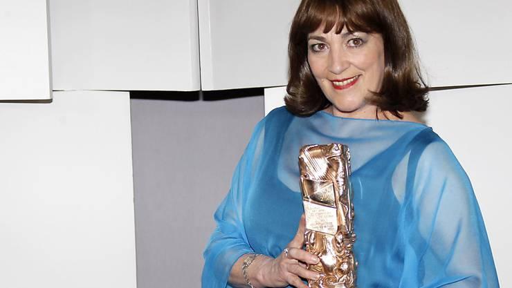 Carmen Maura spielt auch gerne in kleinen Filmen. Hier hält sie den César 2012 in Paris (Archiv).