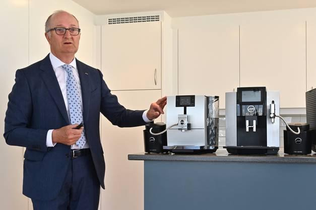 Jahres-PK Jura Elekroapparate AG Niederbuchsiten mit Emanuel Probst 02-2019