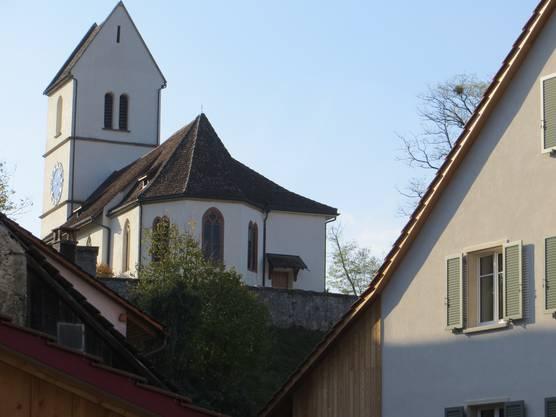 Die Kirche von Oltingen, soll eine der ältesten Kirchen vom Oberbaselbiet sein