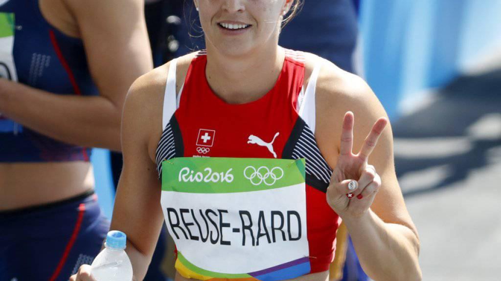 Clélia Rard-Reuse zeigte auch im Halbfinal über 100 m Hürden eine gute Leistung
