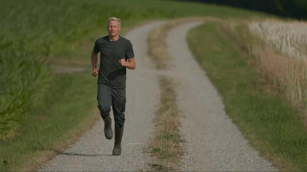 Der «Fastest Farmer» heisst so, weil Wägeli laut eigener Aussage der schnellste Marathonläufer ist, der gleichzeitig als Bauer arbeitet.