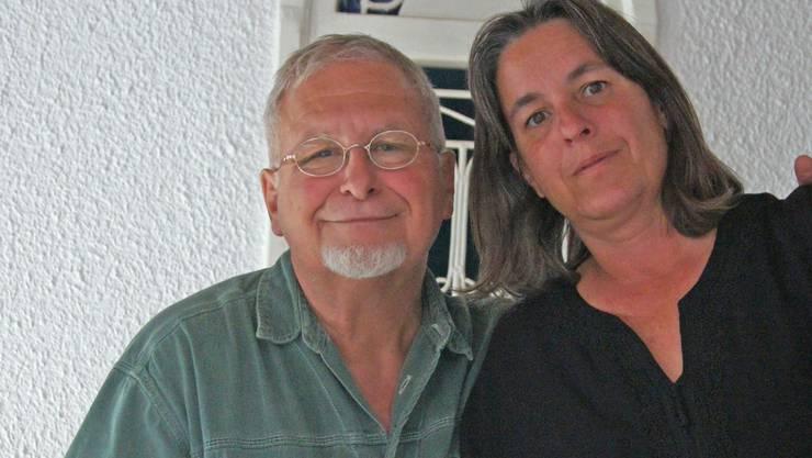 Cornelia Breitschmid und Jean-Marie Suter freuen sich auf Gäste.