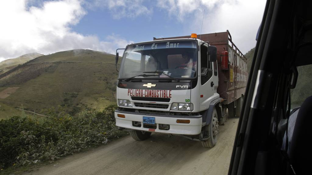 Gestrandete Schweizer verunfallen in Peru