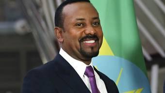 Abiy Ahmed, früher Technologieminister und jetzt Premierminister von Äthiopien: Ihm hat das Land zu verdanken, dass es jetzt eine Raumfahrtnation ist. (Archivbild)