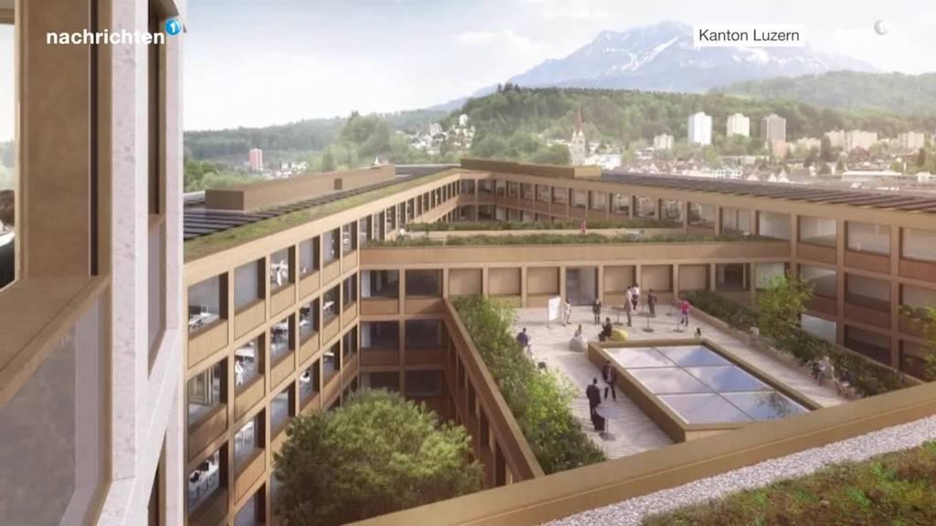 Definitives Projekt Verwaltungsgebäude Seetalplatz