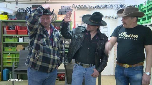 Echte Cowboys auf dem Albisgütli