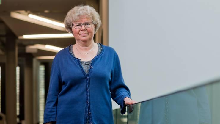 Baslerin in Windisch: Mathilde Gyger im Campus.
