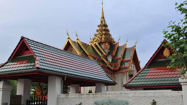 Das buddhistische Zentrum in Gretzenbach kann besucht werden.