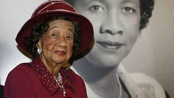 Dorothy Height starb mit 98 Jahren in der US-Hauptstadt Washington