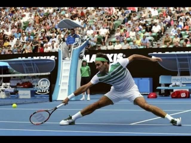 Roger Federers schönste Punktgewinne am Australian Open 2016.
