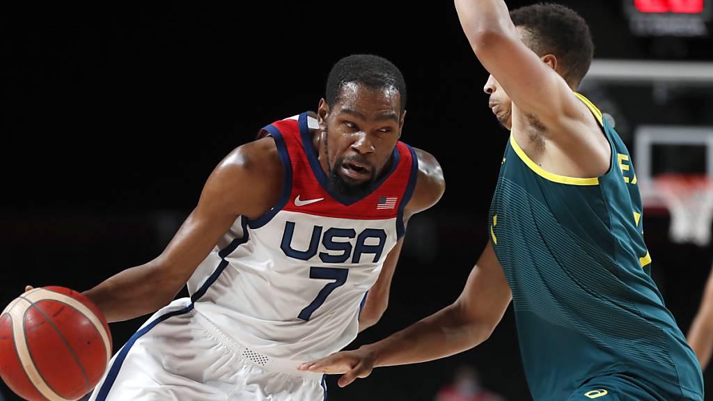 US-Basketballer wieder im Final – Viertes Gold in Serie möglich
