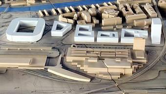 Die Stadt Zürich stellt Projekt rund ums Hardturmstadion den Medien vor