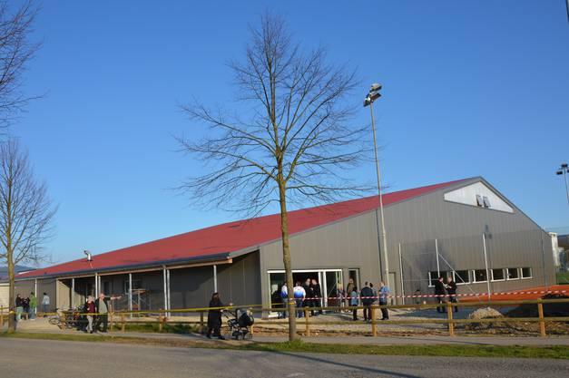 Die neue Halle des Tennisclubs Möhlin