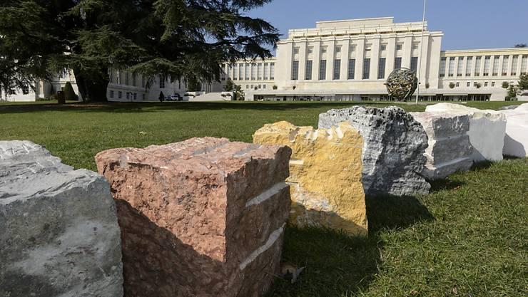Auch für die Sanierung des «Palais des Nations» (Bild) wurde ein Darlehen gewährt. (Archivbild)