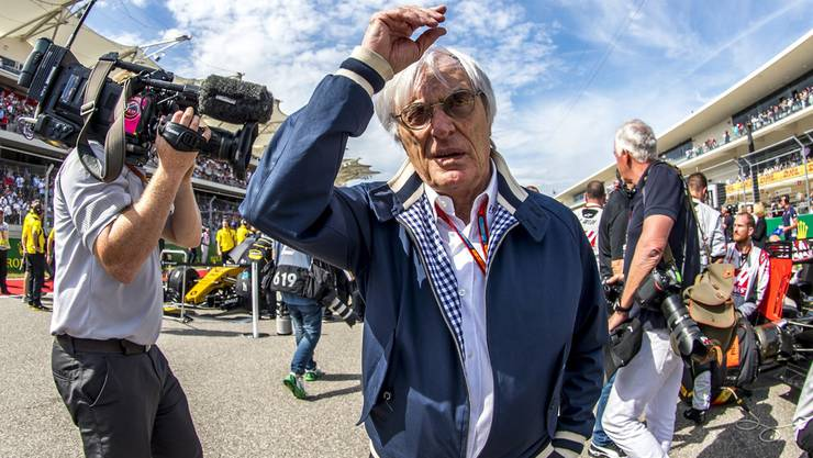 Bernie Ecclestone übt vor dem Jubiläumsrennen Kritik.