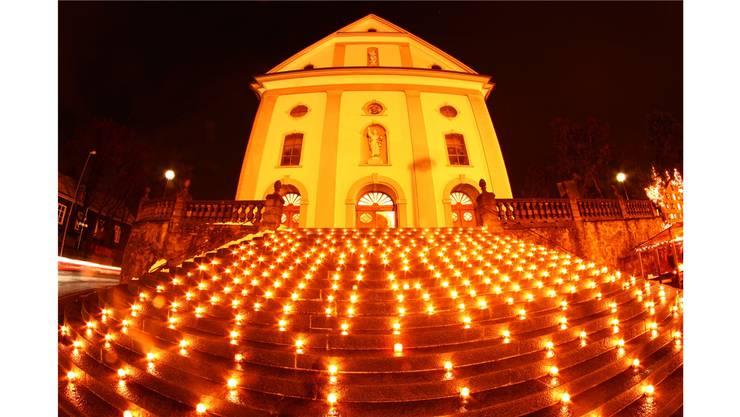 """Die Aktion """"Eine Million Lichter"""" macht Eindruck und regt zum Nachdenken an."""