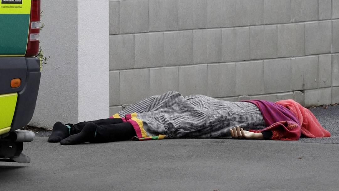 Schüsse in Neuseeland: Mindestens 40 Tote nach Attacke auf zwei Moscheen
