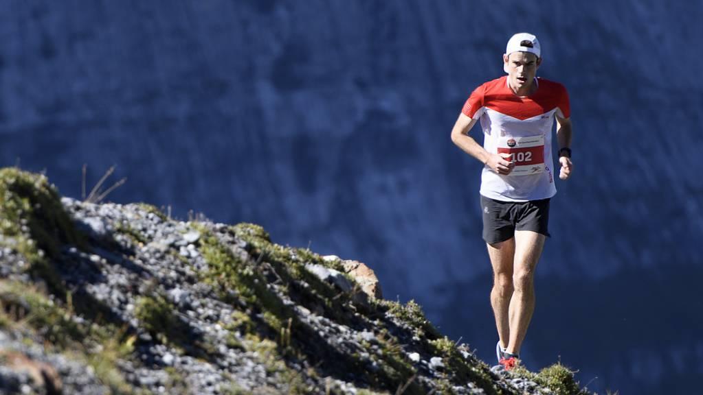 Robbie Simpson wiederholte am Jungfrau-Marathon seinen Vorjahressieg