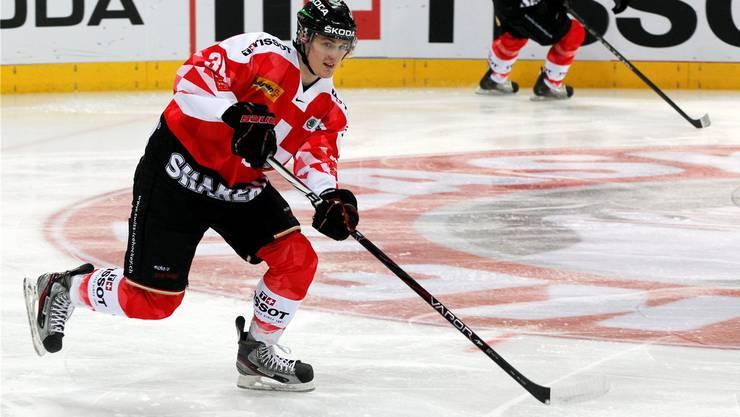 Kukan bei seinem Debüt im Dress der Schweizer Nationalmannschaft.  Quelle: Keystone