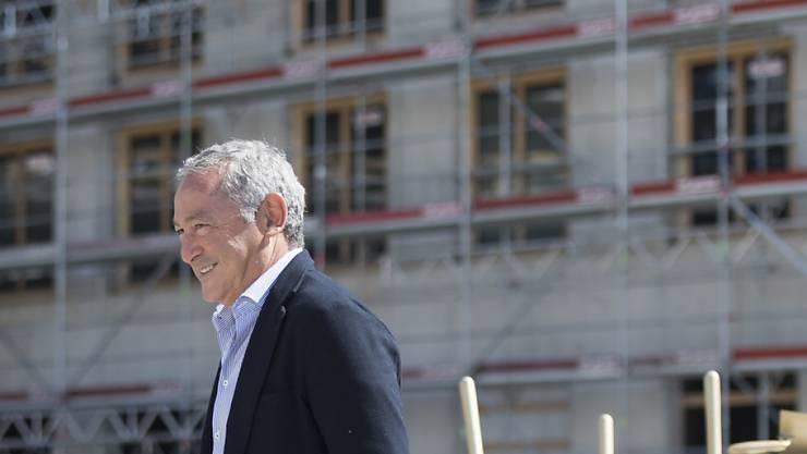 Da hat er gut lachen: Die Orascom DH von Samih Sawiris baut ein neues Hotel im Oman (Archivbild).