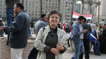 Wafae Eldimiaty: «Schauen Sie sich um! Die Islamisten werden keinen Erfolg haben.»  benno tuchschmid