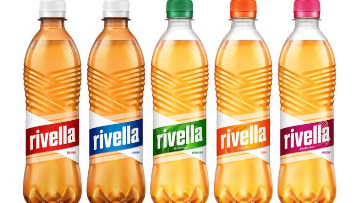 Rundum erneuert: Das neues Design der Rivella-Flasche.